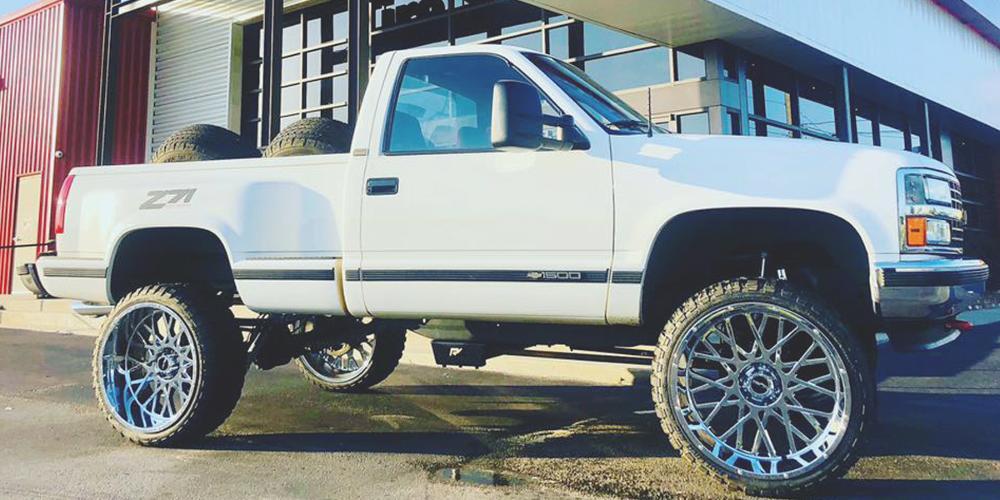 Chevrolet Silverado 1500 412 Rocker