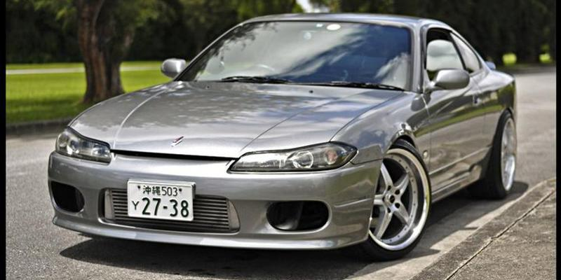 Nissan Silvia - Liquidmetal Wheels F5