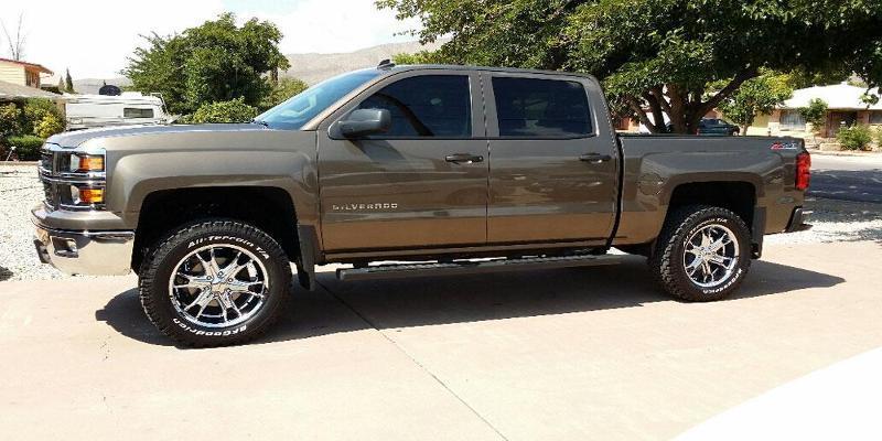 Chevrolet Silverado 1500 - Liquidmetal Wheels Coil