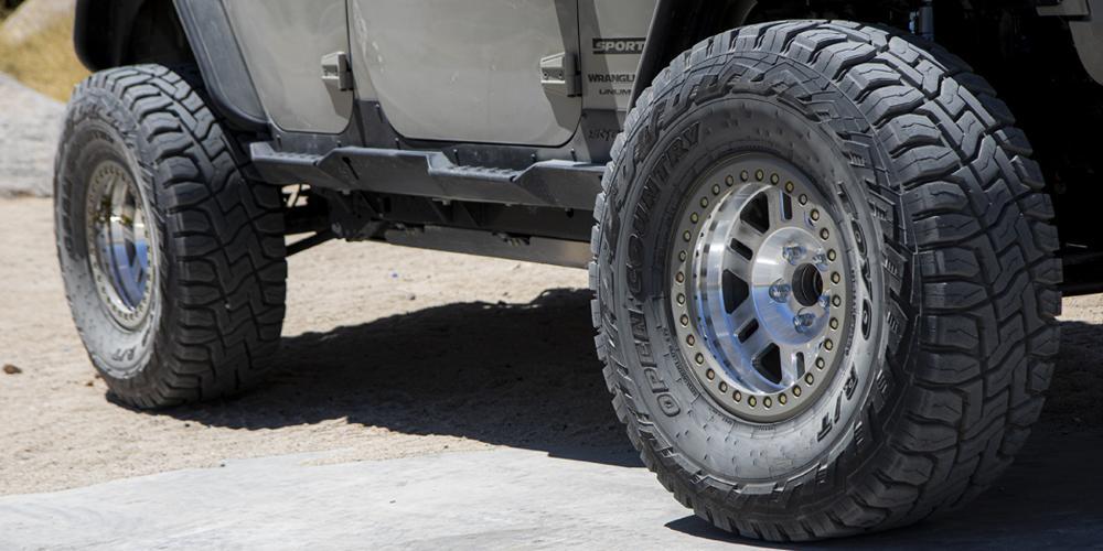Jeep Wrangler JK 398 Manx Forged Beadlock
