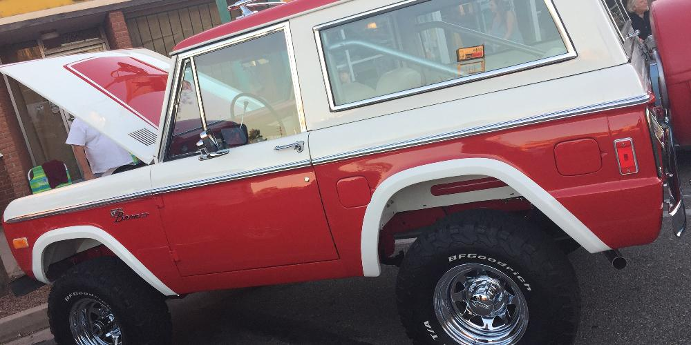 Ford Bronco 8-Spoke (Series 75)