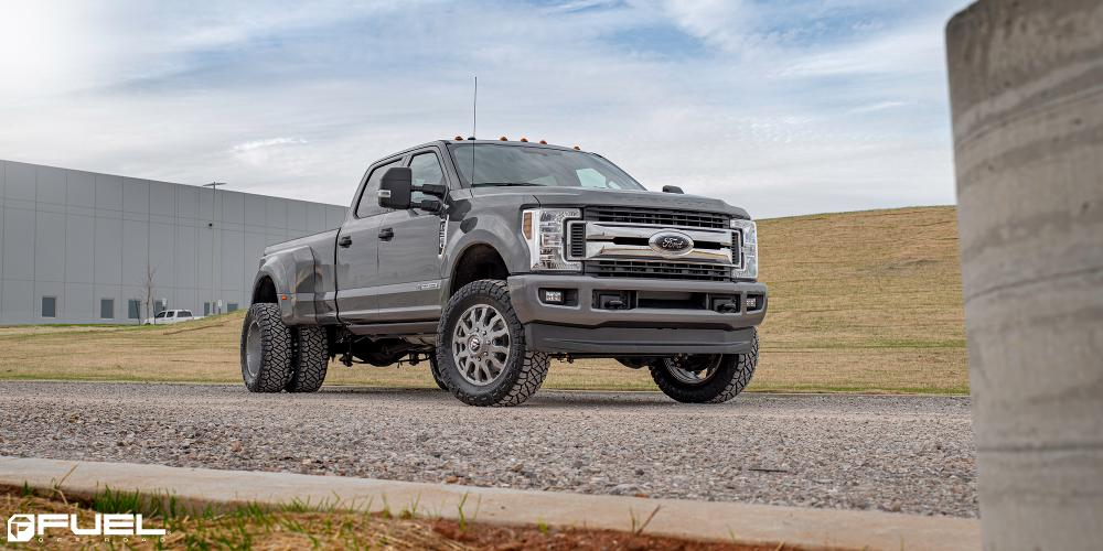 Ford F-350 Super Duty Fuel Blitz Dually Front - D693