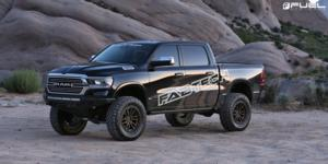 Rebel 6 - D681 on Dodge Ram 1500