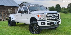 Maverick - D262 on Ford F-350 Super Duty Platinum