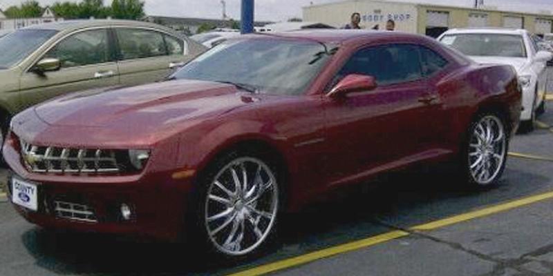 Chevrolet Camaro Bossini