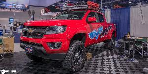 Boost - D534 on Chevrolet Colorado