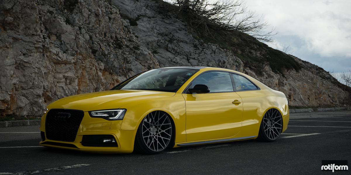Audi A5 Blq Gallery Rotiform Wheels