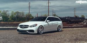 PNT on Mercedes-Benz E63 AMG S