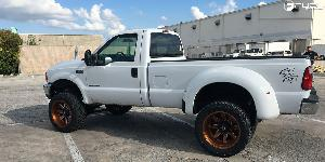 Maverick Dually Rear - D538 on Ford F-250 Super Duty Dual Rear Wheel