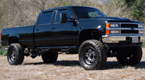 Anza - D558 on Chevrolet Silverado 2500 HD