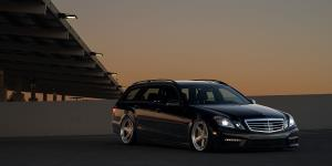 PNT on Mercedes-Benz E55 4MATIC Wagon