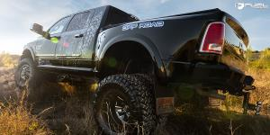 Cleaver Dually Rear - D574 on Dodge Ram 3500