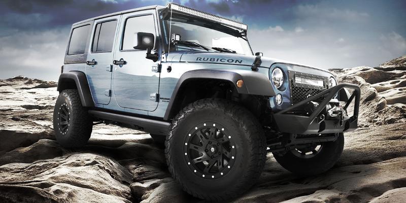 Jeep Rubicon - American Outlaw Wheels Lawman (S122)