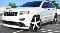Milan - M134 on Jeep Grand Cherokee
