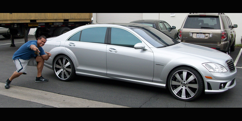 Mercedes-Benz S550 OTTO