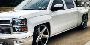 Baller - S116 on Chevrolet Silverado 1500 HD