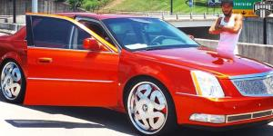 Markee - S741 on Cadillac DTS
