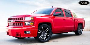 Wedge - F160 on Chevrolet Silverado 1500 HD