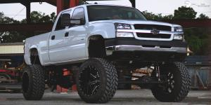 Maverick - D262 on Chevrolet Silverado 2500 HD