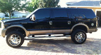 Krank - D516 on Ford Excursion