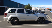 Push - S109 on Jeep Grand Cherokee