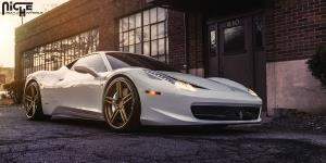 Dromo on Ferrari 458 Spider