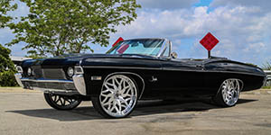 Amani Forged VITO wheels on a '68 Impala