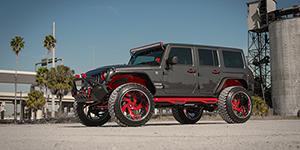 2016 Jeep Wrangler | Amani Forged Freccia