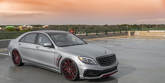 2017 Mercedes-Benz S550 | Amani Forged Artista