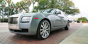 Amani Forged Rolls Royce Ghost on Amani Forged Cavo