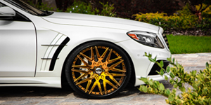 Mercedes Benz S550 on Amani Forged Artista