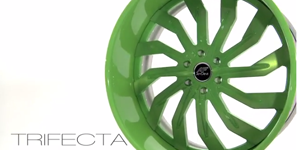 TRIFECTA Green Wheel Feature