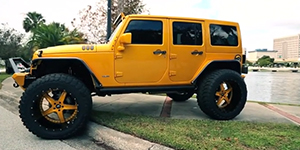 Amani Forged Tremendo Off-Road on a Jeep Wrangler 24