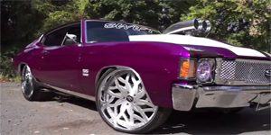 Amani Forged VITO wheels on an SS Chevelle