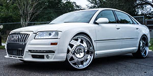 Amani Forged CASTILLO wheels on an Audi S8