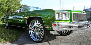 Amani Forged Nino's on Trick Daddy's Caprice