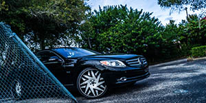 Amani Forged FORZIANO on a Mercedes CL600