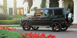 Amani Forged DELANO on a Mercedes G63 AMG