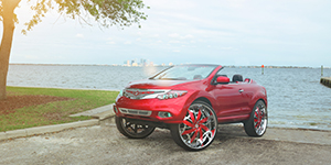 Amani Forged Lorenzo on a Nissan Murano 32