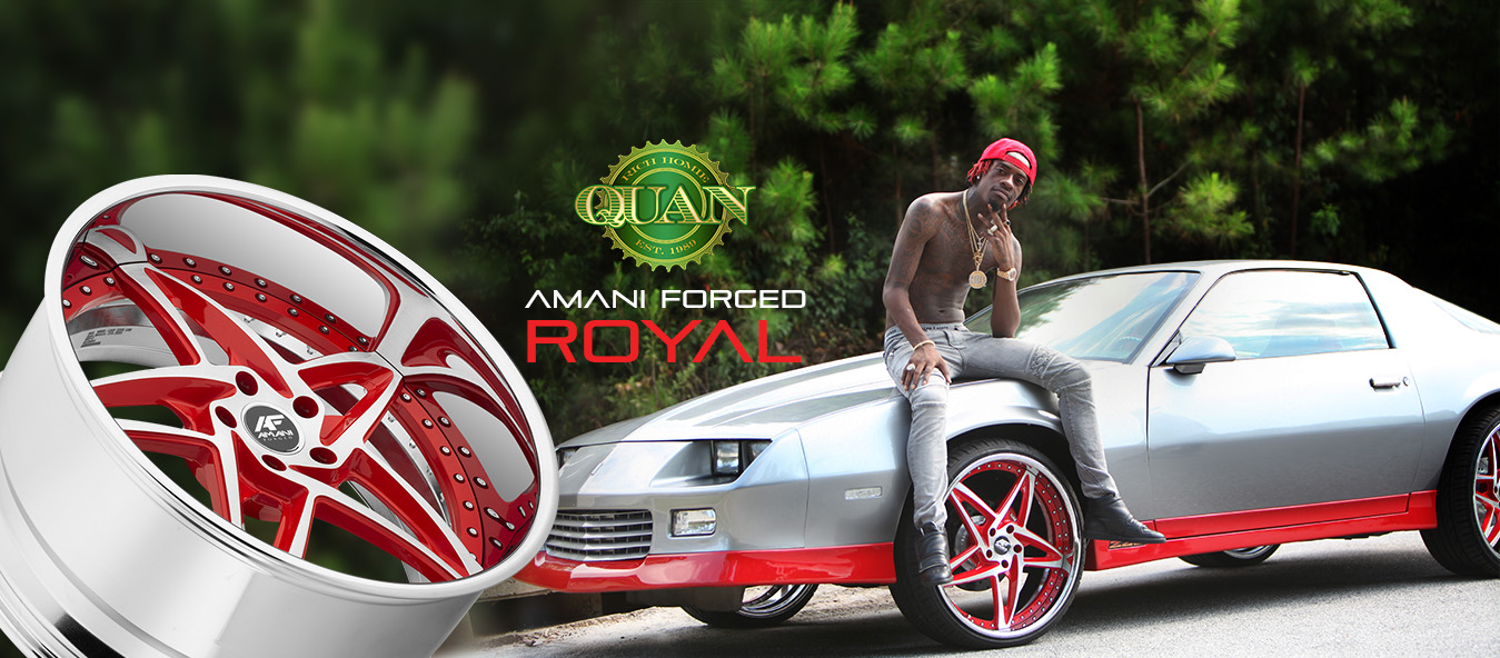 Rich Homie Quan's Amani Forged Royal