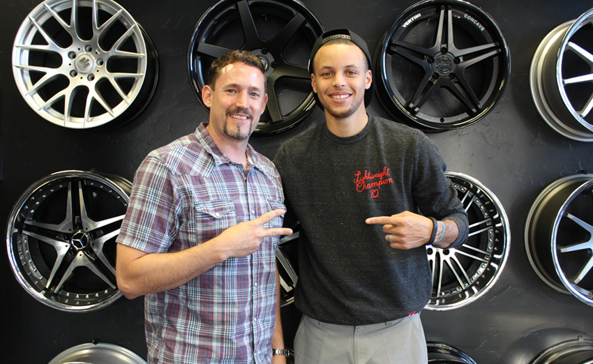 California Wheels - Stephen Curry