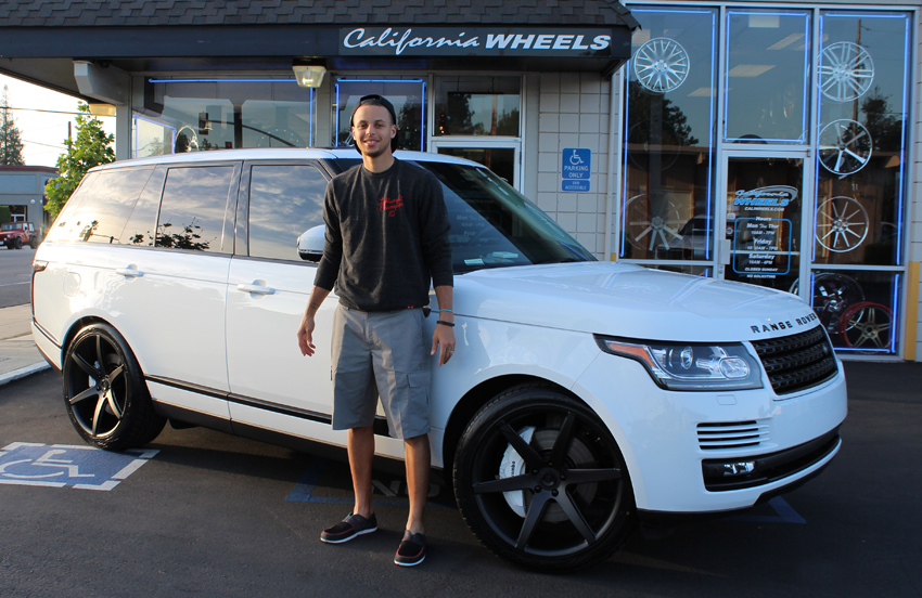 Stephen Curry - Range Rover
