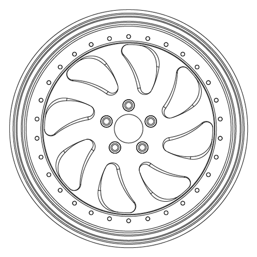 Multi-Piece - AB03 Edge MP