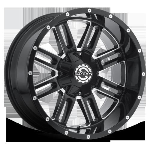Scorpion SC-18 Black Milled
