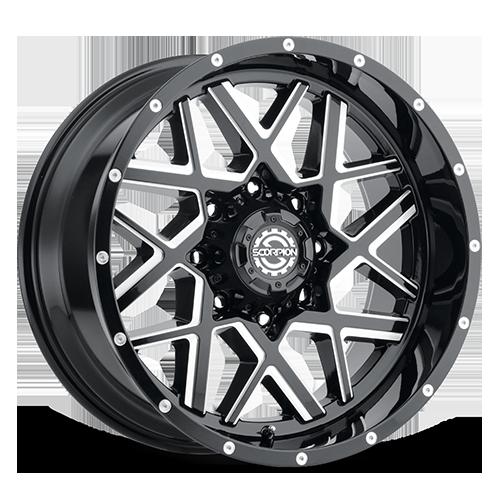 Scorpion SC-28 Black Milled
