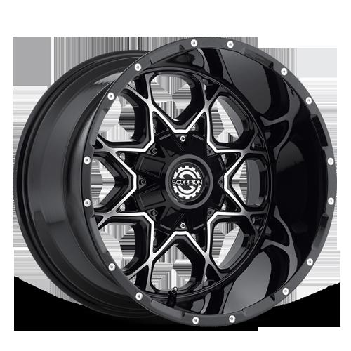 Scorpion SC-10 Black Machined
