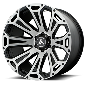 Asanti Wheels - AB813 Cleaver Black Machined 6 lug