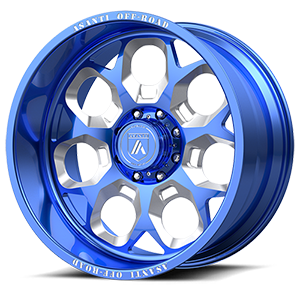AB110 Blue & Milled