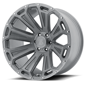 Asanti Wheels - AB813 Cleaver Titanium Brushed 6 lug