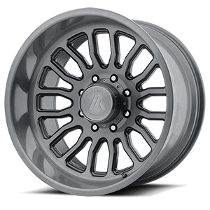 Asanti Wheels - AB815 Workhorse Titanium Brushed 8 lug